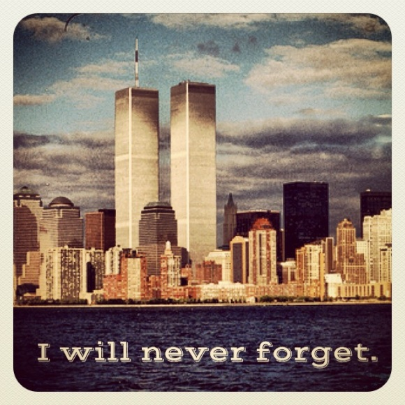 I will never forget.